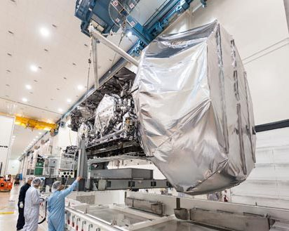 Navy's fourth MUOS Satellite Completes Thermal Vacuum Testing