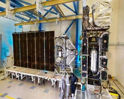 GOES-R Satellite Begins Environmental Testing
