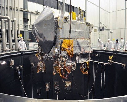 NASA's OSIRIS-Rex Spacecraft Undergoing Major Environmental Test Milestone